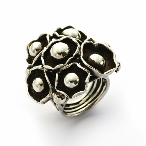 Water Lily Multi Silver