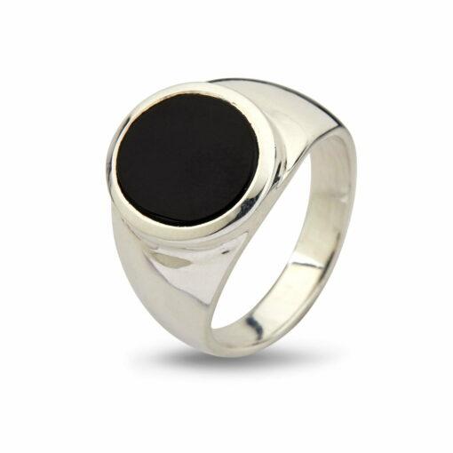 Oval Black Onyx