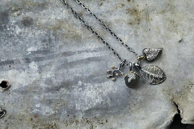 diamant halskæde