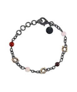 Chain Zeus Stones Red Mix
